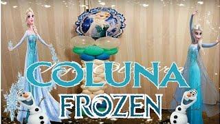 getlinkyoutube.com-Como fazer Coluna de Balões Frozen
