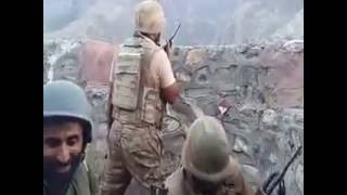 Pakistan Army returning Fire at Torkham Border width=