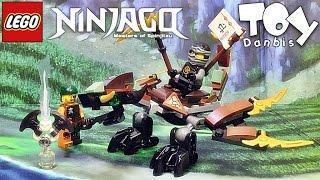 getlinkyoutube.com-레고 닌자고 콜의 드래곤 70599 스카이해적 조립 리뷰 Lego Ninjago Cole's Dragon 2016 신제품