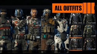 "getlinkyoutube.com-Call of Duty: Black Ops 3 - All Specialist Outfits/Bio/Gears (Mulitplayer Showcase) ""Default"""