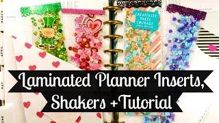 getlinkyoutube.com-Laminated Shakers, Planner Inserts + Tutorial!