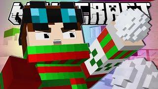 getlinkyoutube.com-Minecraft   SNOWBALL FIIIIIIIGHT!!   Snow Fight Minigame