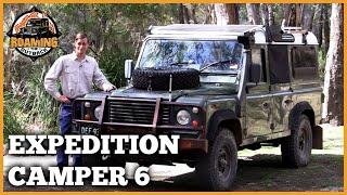 getlinkyoutube.com-Land Rover Defender Expedition Camper Upgrade Part 6