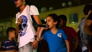 السادات وطفل صغير مهرجان الراب المصرى لايف