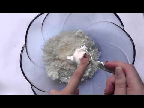 Como hacer Pasta de miga de pan(migajon)