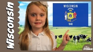 getlinkyoutube.com-Information about WISCONSIN || for KIDS by KIDS || The Family Fudge