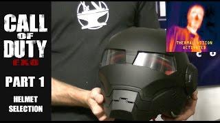 CoD Exo, Part 1: Masei Helmet w/ Thermal Vision