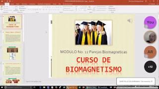 Curso de Biomagnetísmo 1er. nivel Modulo No. 12