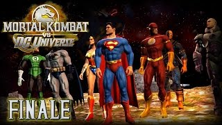 getlinkyoutube.com-Mortal Kombat vs DC Universe Let's Play FINALE - SUPER RAGE! (Superman)