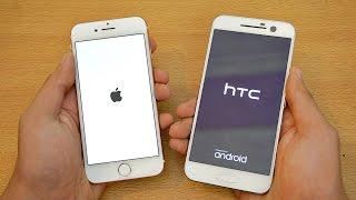 getlinkyoutube.com-iPhone 7 vs HTC 10 - Speed Test! (4K)