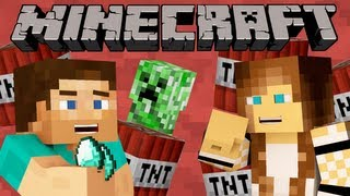 getlinkyoutube.com-Minecraft was NOT made for this