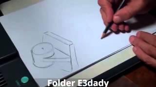 getlinkyoutube.com-رسم هندسى اعدادى المحاضره الثالثه- Engineering Drawing Lecture 3