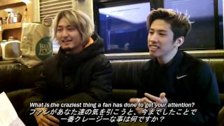 getlinkyoutube.com-ONE OK ROCK Interview at The Rave on November 7, 2015 日本語字幕