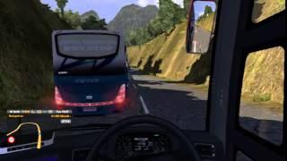 getlinkyoutube.com-Sanura VS PMTOH Busmod ETS2 Indonesia