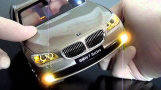 getlinkyoutube.com-BMW 750Li Kyosho 1:18 LED Licht Tuning Conversion M3 M5