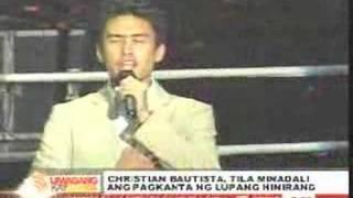 getlinkyoutube.com-Christian Bautista: Lupang Hinirang Blooper