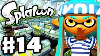 getlinkyoutube.com-Splatoon - Gameplay Walkthrough Part 14 - Kelp Dome! (Nintendo Wii U)