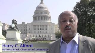 Harry Alford of the National Black Chamber of Commerce Supports the Virtual Rally for Jobs