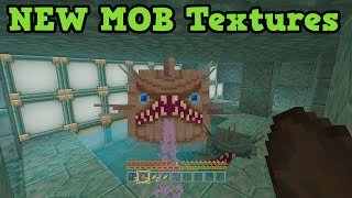 getlinkyoutube.com-Minecraft Xbox One / PS4 TU31 New Mobs ALL New Textures