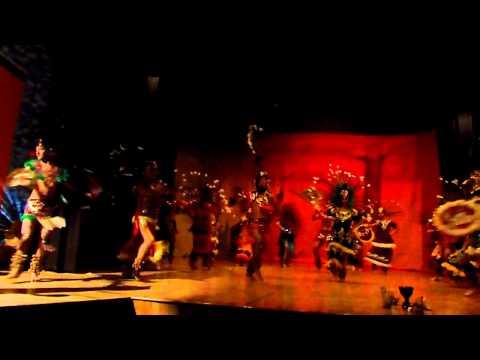 Danzas Prehispánicas (Parte 1) Prepa 5 Yohualli Ehecatl.
