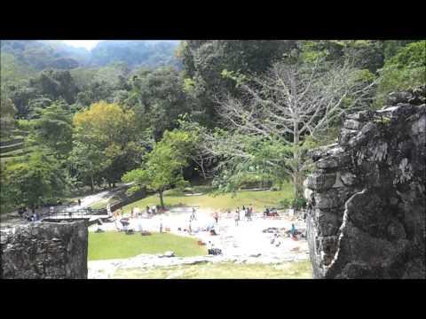Ruinas Arqueologicas de Palenque, México