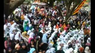 استقبال مهيب من  مسلمي مدينة كوتاباتو بالفلبين للشيخ ماهر المعيقلي في أول زيارة له - 1436/1/11