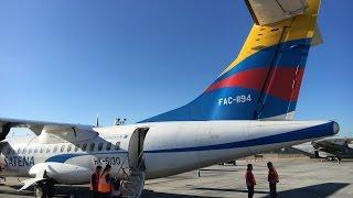 getlinkyoutube.com-|TRIP REPORT| ATR 42-600 SATENA BOG-EOH