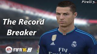 getlinkyoutube.com-FIFA 16: Cristiano Ronaldo - Record Breaker - Goals & Skills |Special Fifa Remake| - Pirelli7
