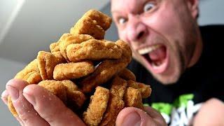 getlinkyoutube.com-The One Bite Challenge: 16 Chicken Nuggets