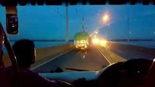 Green Line 1172 Abul bhai on Jamuna bridge