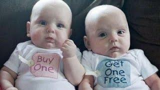 getlinkyoutube.com-Top 10 Cutest  Twin Babies Videos Compilation