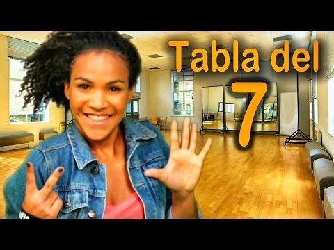 Canción de la tabla del 7 - Las Tablas de Multiplicar al Estilo Urbano - Videos Educativos #