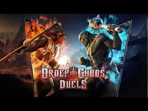 Order & Chaos Duels / iPhone / iPad / Android - Launch Trailer