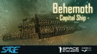 getlinkyoutube.com-Space Engineers, Behemoth Capital Ship