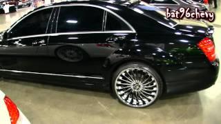 """getlinkyoutube.com-Mercedes Benz AMG S63 on 22"""" Forgiatos Wheels - 1080p HD"""