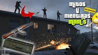 getlinkyoutube.com-GTA V - Mitos y Mentiras #119   Activando minas con las armas!!