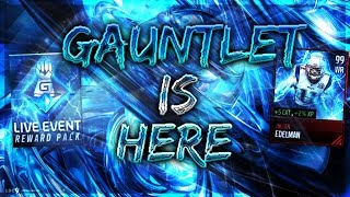GAUNTLET IS OUT!! MY THOUGHTS!!- Elite Gaunlet Player Pack!- Madden Mobile 17