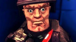 getlinkyoutube.com-NAZIS, CRAIGNEZ-NOUS ! (Super Wolfenstein HD)