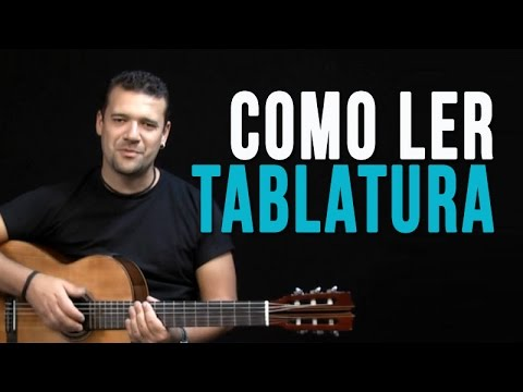 Como ler Tablatura