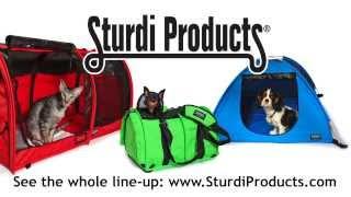 getlinkyoutube.com-SturdiBag Flex-Height Pet Carrier