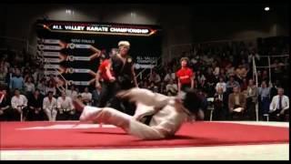 getlinkyoutube.com-Karate Kid - Sweep The Leg