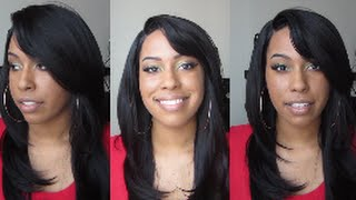 getlinkyoutube.com-Soft Swiss Lace Wig: BS201 Color #2...Love This!