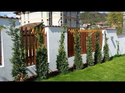 Garduri din lemn personalizate pentru locuinta ta