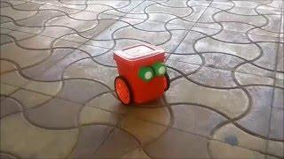 getlinkyoutube.com-How To Make Simple DIY Robot for Kids (Mr. Red Robot Do-it-yourself)