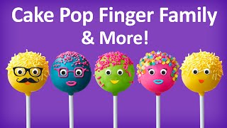 getlinkyoutube.com-Cake Pop Finger Family Collection | Top 10 Finger Family Collection | Finger Family Songs