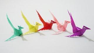 getlinkyoutube.com-พับเหรียญโปรยทาน นกกระจิบ (Wren)