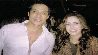 getlinkyoutube.com-شاهد الفنان الراحل عامر منيب مع زوجته وبناته الثلاثة اللى زى القمر