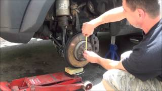 getlinkyoutube.com-7-4-14 how to replace the front lower control arms on a Land Rover LR3