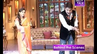 Comedy Nights with Kapil : Sumona Chkravarti as Kapil Sharma's wife in the show