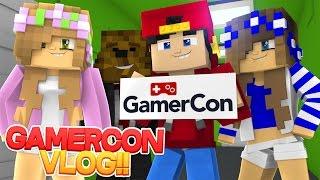 Minecraft VLOG Adventure - GAMERCON DUBLIN, w/ Little Kelly, Little Carly & JeromeASF!!!